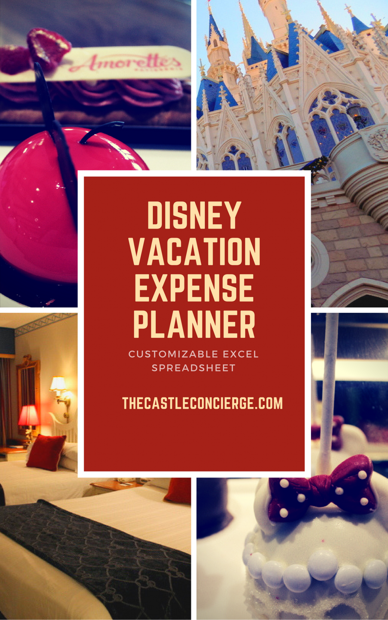 disney vacation expense planner