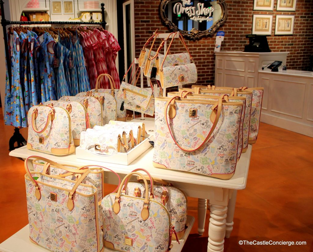 Dooney and Bourke Cherry Tree Lane Disney Springs WDW