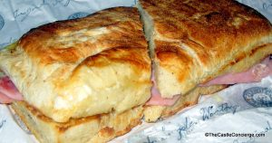 Ham and Cheese Sandwich at Earl of Sandwich, Disney Springs