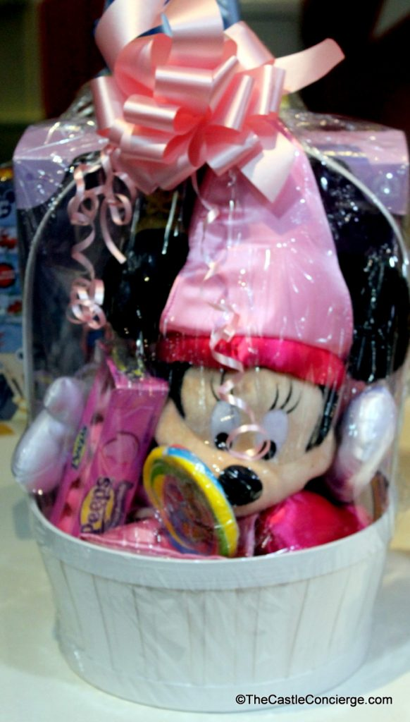 Purchase pre-made Easter Baskets at Walt Disney World.