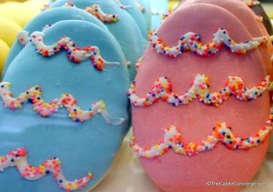 Easter cookies at Candy Cauldron in Disney Springs.