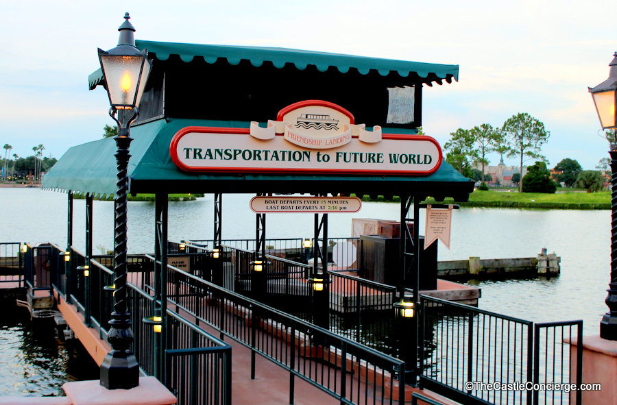 Epcot Friendship Boat Transportation