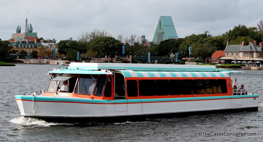 Epcot Transportation Friendship Boat