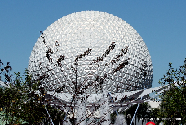 Spaceship Earth at Epcot in Walt Disney World