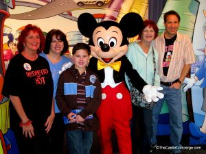 Family travel Walt Disney World.