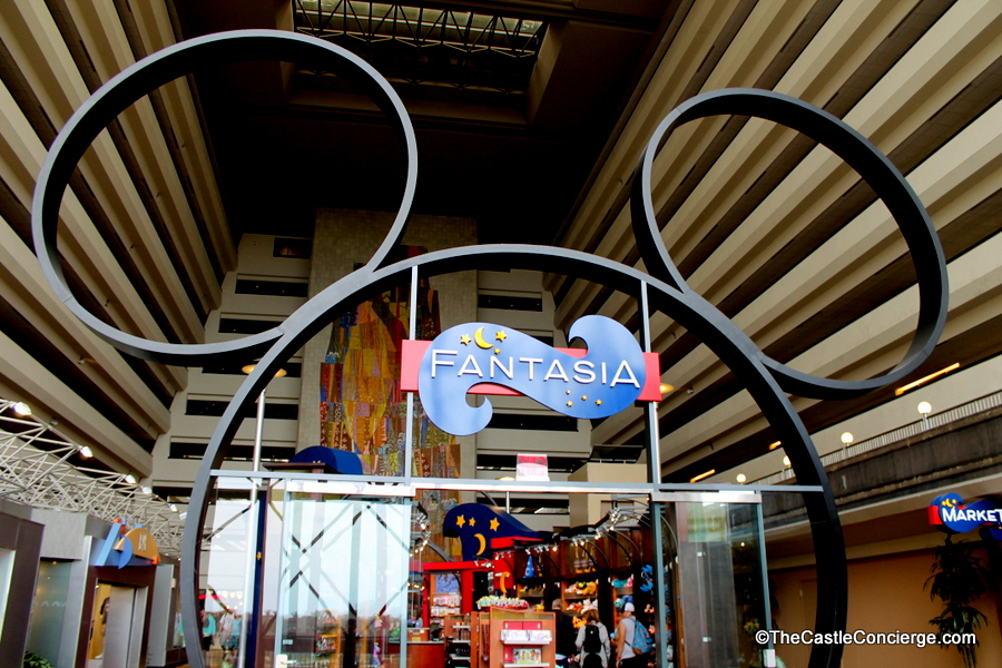 Fantasia has toys and souvenirs at Disney's Contemporary Resort