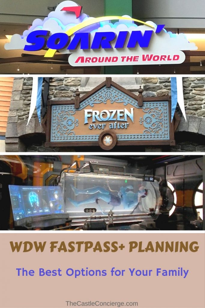 FastPass Plus Options for your Family when touring WDW.