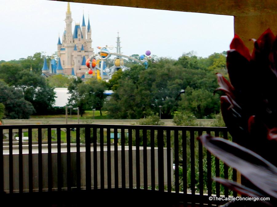 Fourth Floor Outdoor Deck at Disney's Contemporary Resort