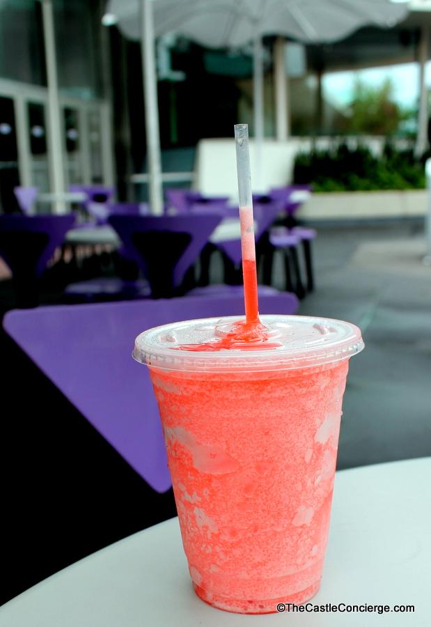 Raspberry Lemonade Frozen Slushy Cheshire Cafe