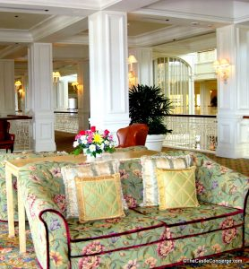 Find a cozy place to unwind at the Grand Floridian.