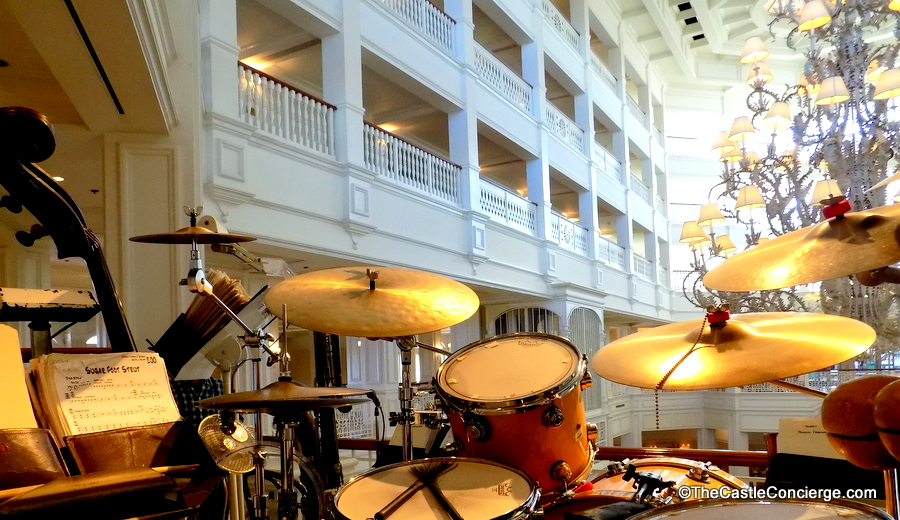 Listen to the Grand Floridian Society Orchestra at Walt Disney World