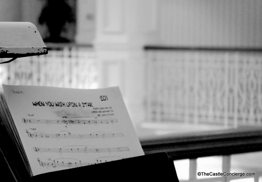 Romance at WDW: Request your favorite tune by the Grand Floridian Society Orchestra.