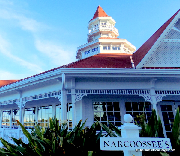 Grand Floridian Resort at WDW. Narcoossee's waterfront restaurant.
