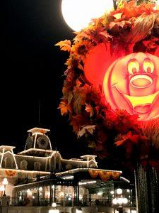 Fall decor at the Magic Kingdom