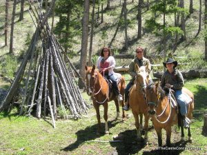 Great horseback riding for families at Bill Cody Ranch in Wyoming.