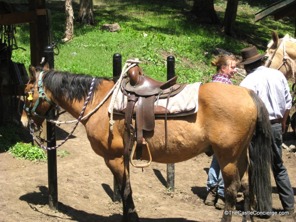 Horseback Riding at Bill Cody Ranch in Wyoming.