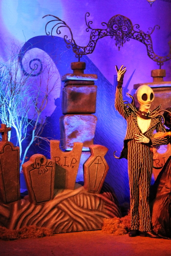 Jack Skellington Mickey's Not So Scary Hallowen Party