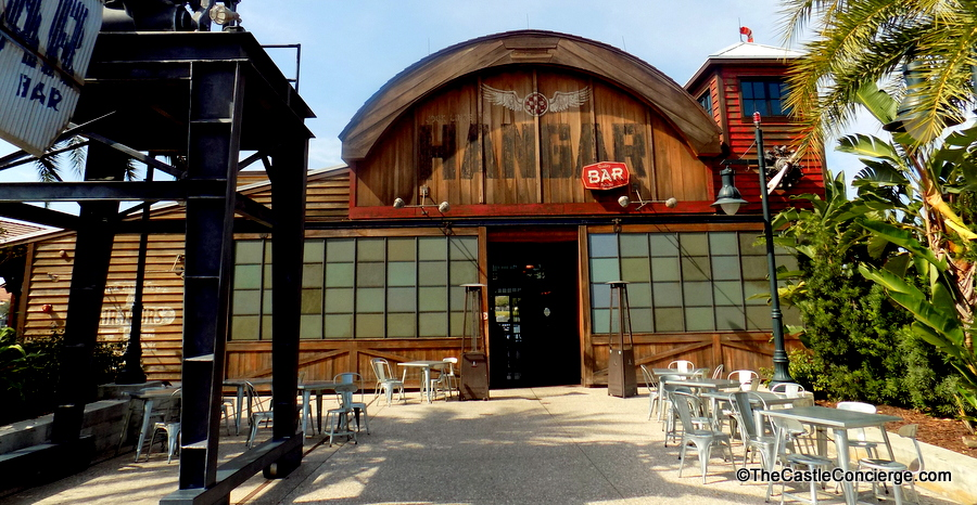 Jock Lindsey's Hangar Bar Disney Springs in Walt Disney World