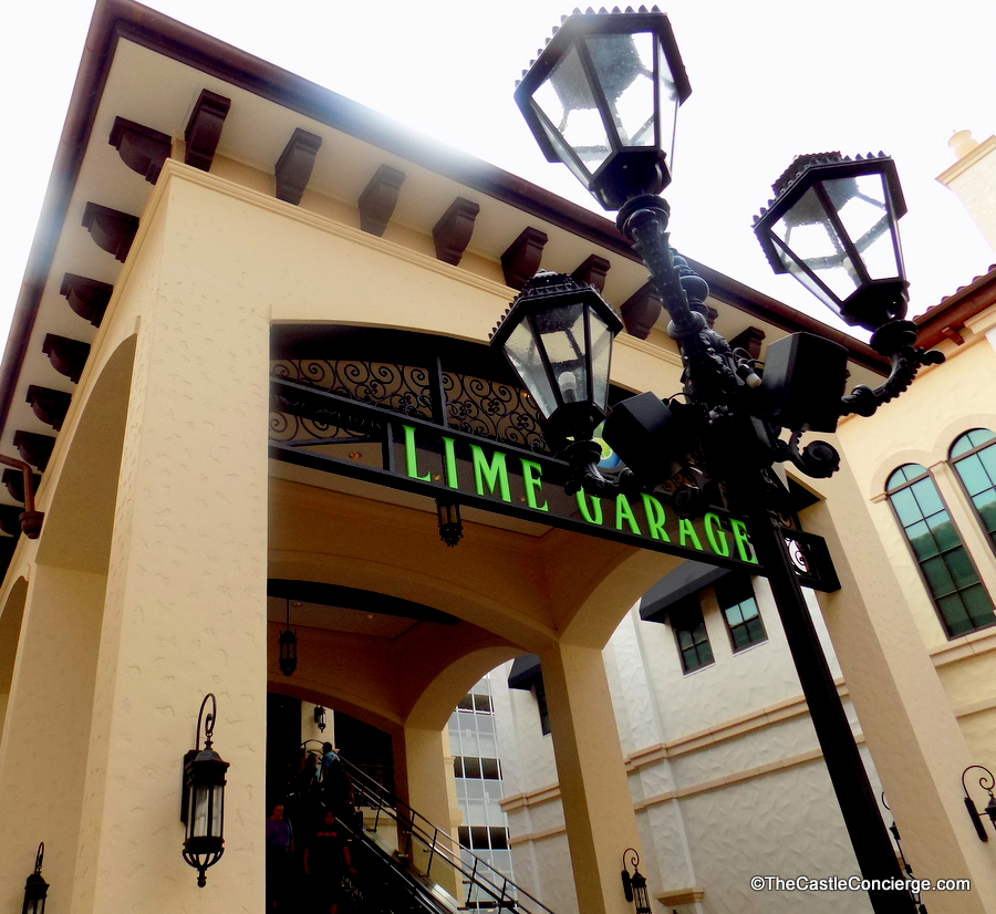 Lime Garage Disney Springs