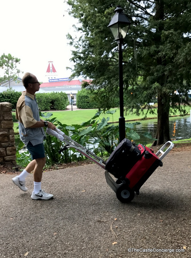 Luggage Delivery at Disney's Port Orleans Resort