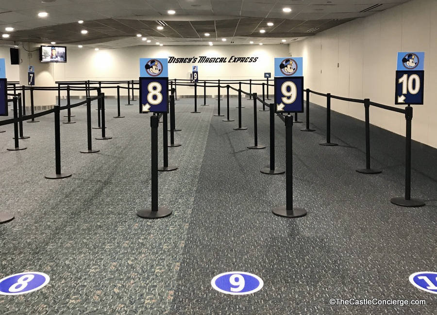 Bus Queues at MCO for Disney's Magical Express