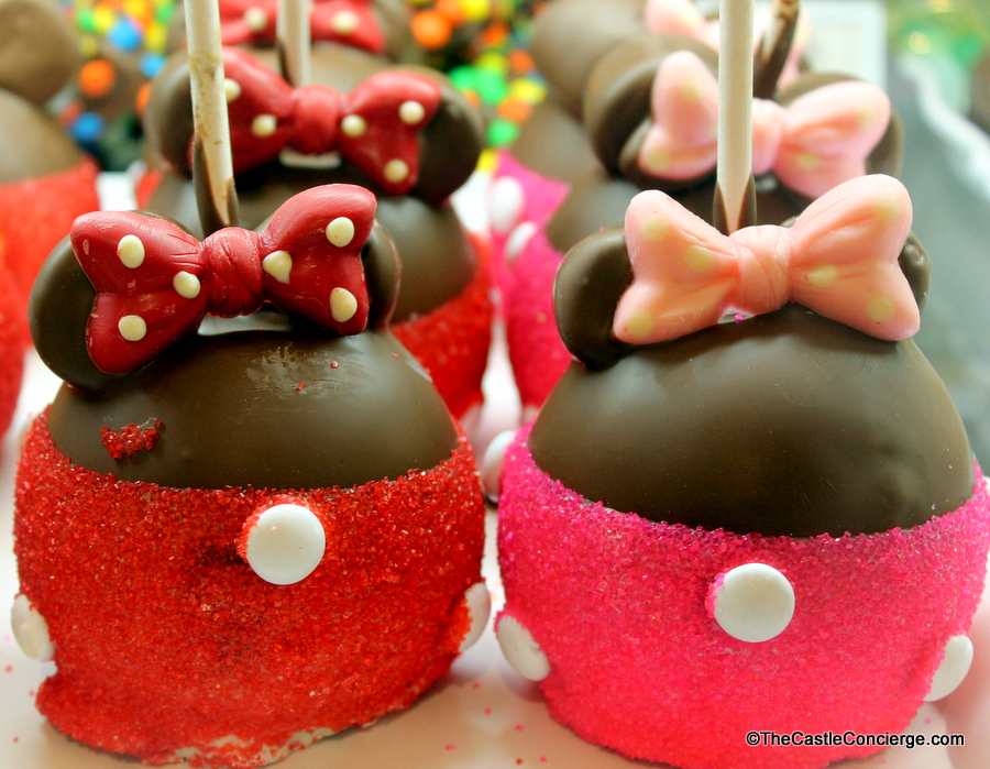 Main Street Confectionery features Candy Apples