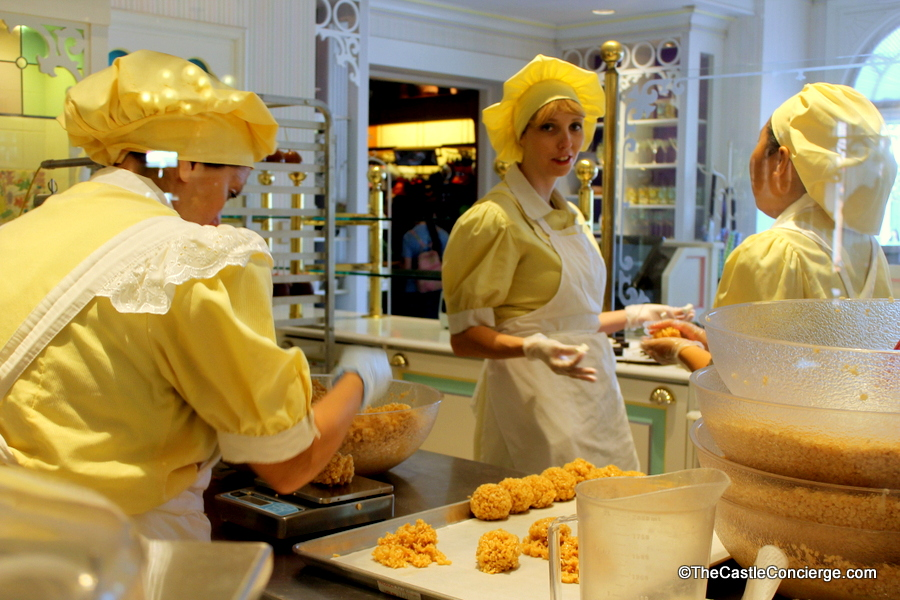 Cast Members make creative sweets at Main Street Confectionery.
