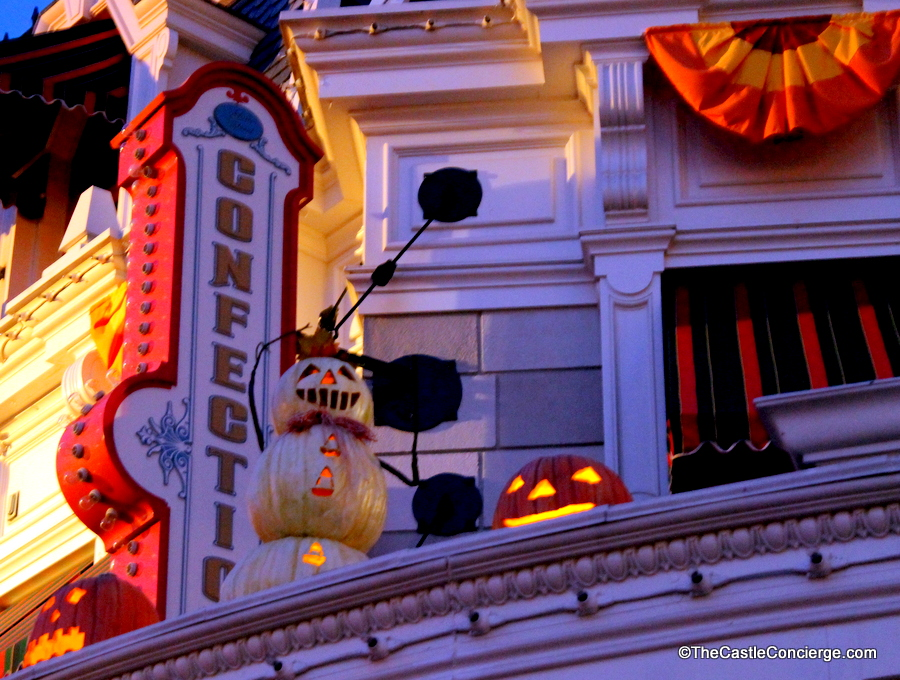 Stop by the Main Street Confectionery during Mickey's Not-So-Scary Hallowen Party.
