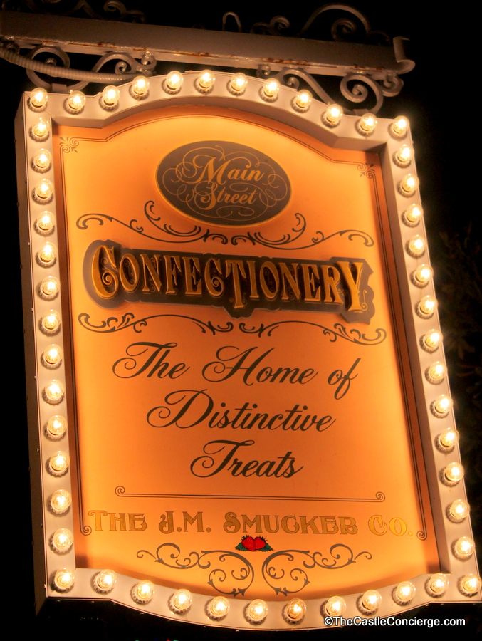 Sponsored by Smucker's, Main Street Confectionery is located in Magic Kingdom at WDW.