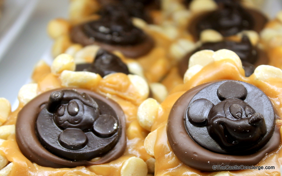 Mickey Macadamia Nut Cluster at Main Street Confectionery.