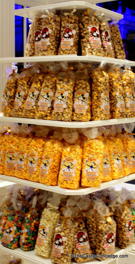 Main Street Confectionery offers pre-packaged popcorn.