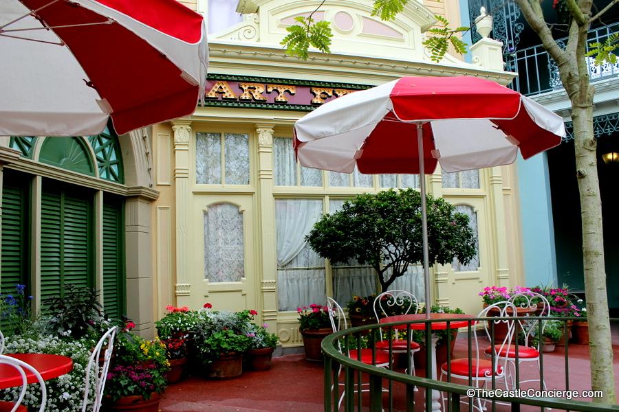 Main Street U.S.A. Tables