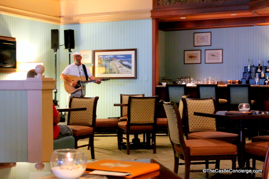 Unwind at the Martha's Vineyard Lounge at Disney's Beach Club resort.