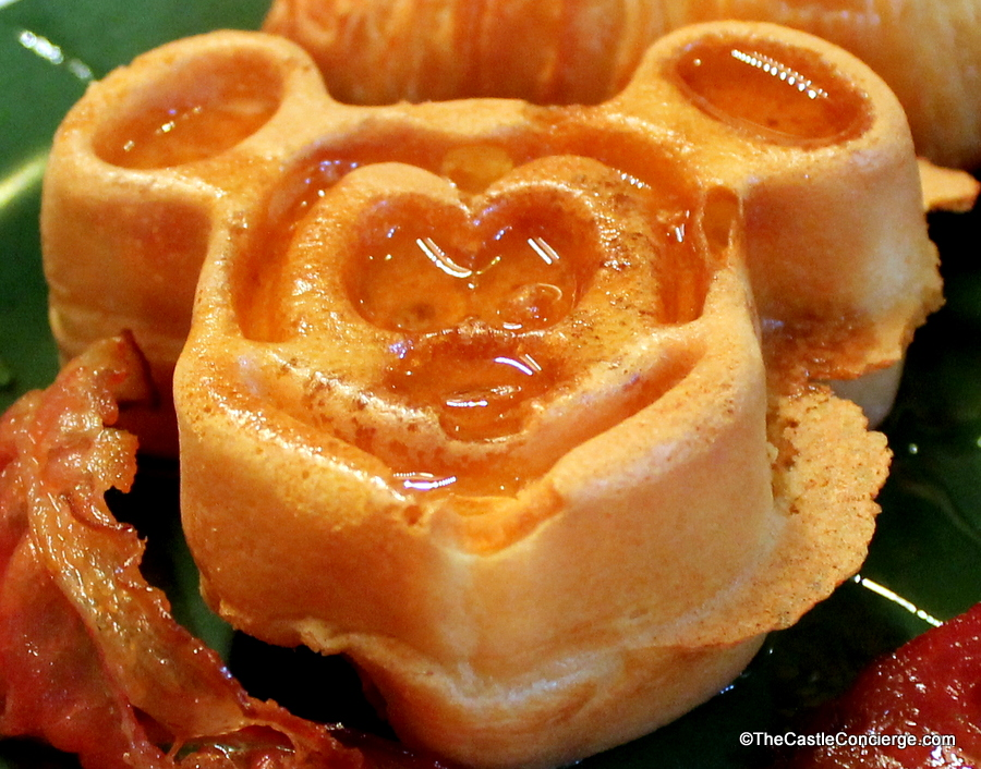 Mickey Waffle Tusker House Animal Kingdom