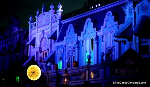 Main Street, U.S.A. Buildings at Magic Kingdom's Halloween Party