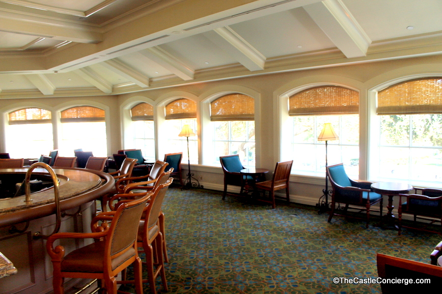 Mizner's Lounge is located behind the Grand Floridian Society Orchestra