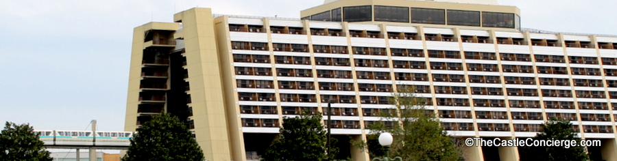 Monorail at Disney's Contemporary Resort