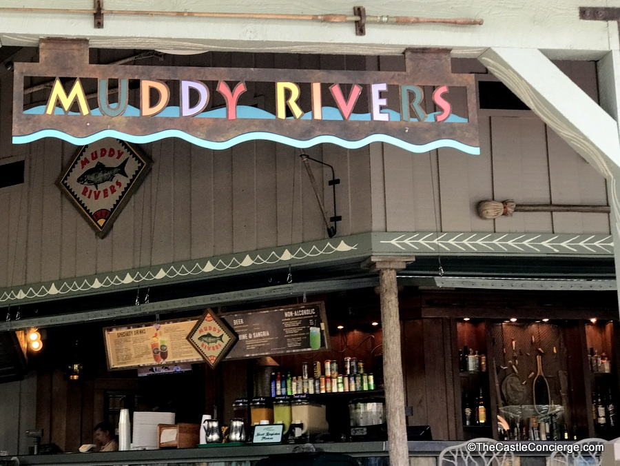 Muddy Rivers Pool Bar located at Disney's Port Orleans Riverside.