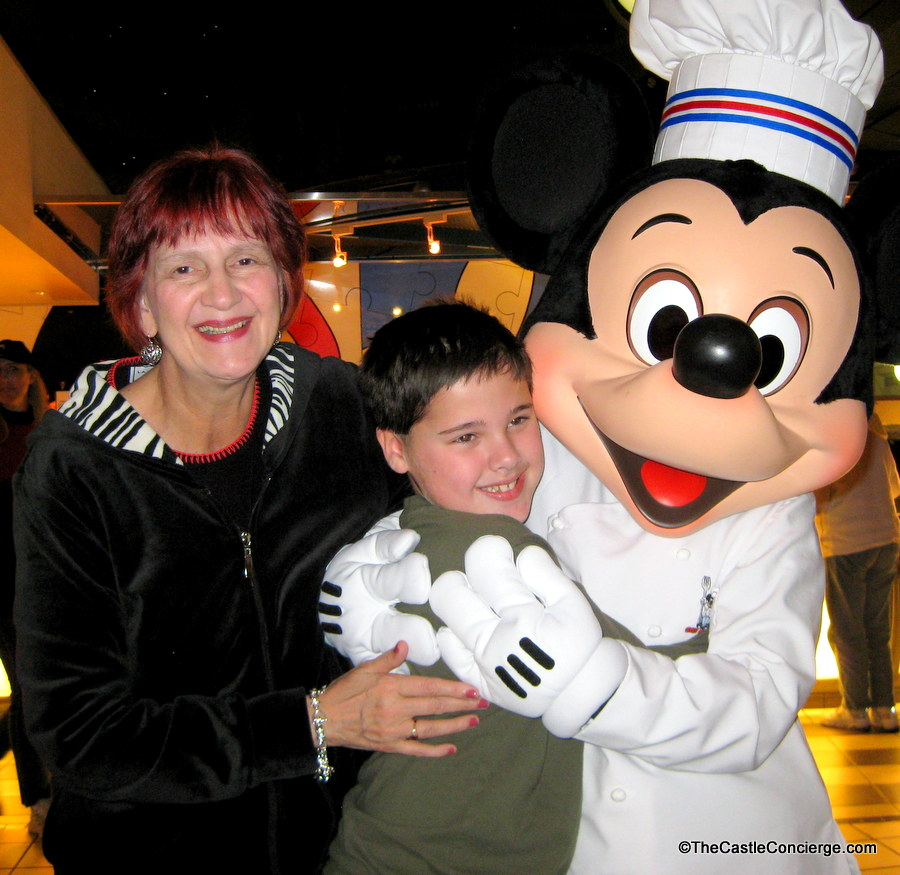Plan a Disney trip with grandparents.