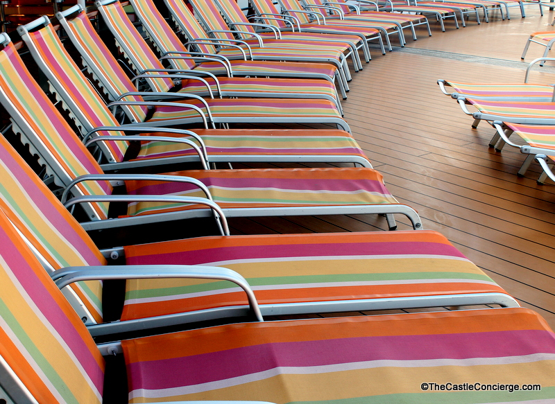 Beach Pool Chairs Oasis Royal Caribbean
