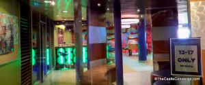 Teens have their own space hang-out at the Living Room area and Fuel teen only nightclub on Oasis.