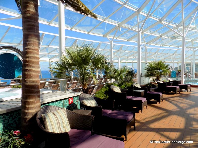 Solarium Oasis of the Seas