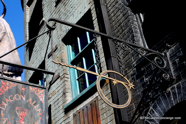 Ollivanders Diagon Alley Universal
