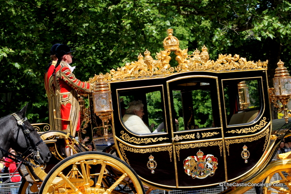 The Queen and the Duke of Edinburgh leave Buckingham Palace for the State Opening of Parliament