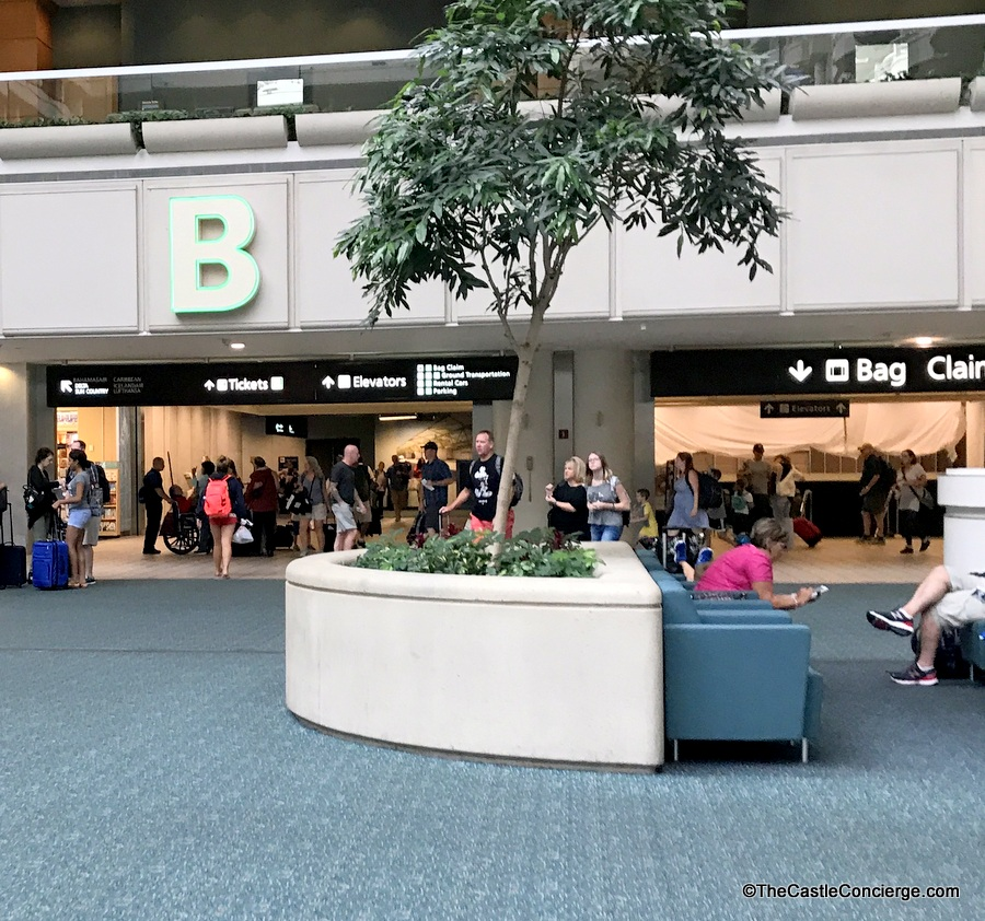Orlando International Airport MCO Side B