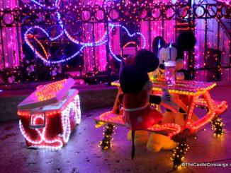 Osborne Family Spectacle of Dancing Lights at Walt Disney World