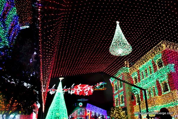 Osborne Lights during holiday season at Disney's Hollywood Studios