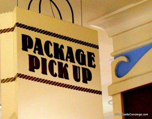 Package Pick Up at Disney's Beach Club Resort