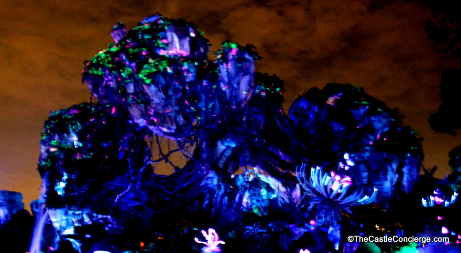 Beautiful Bioluminescence in Pandora.