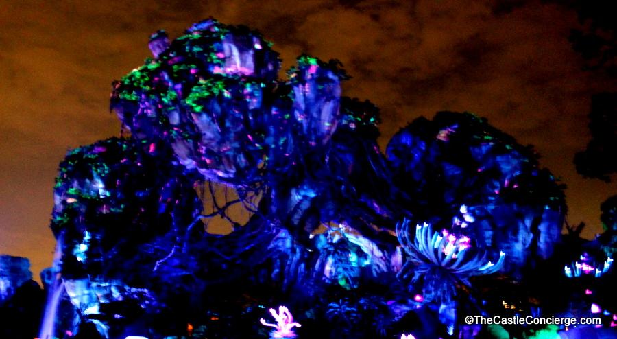 Beautiful Bioluminescence in Pandora.